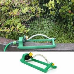 lawn sprinkler oscillating watering garden pipe hose