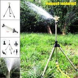 Lawn Sprinkler Tripod Impact Garden Head Bracket Support Wat