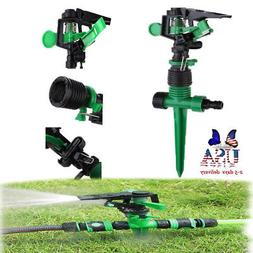 Lawn Sprinklers Automatic Watering Garden Spray Equipment +