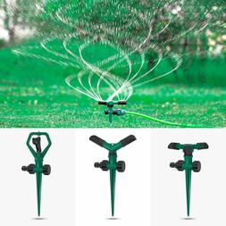 LAWN SPRINKLERS THREE PACK ROTATING ADJUSTABLE GARDEN SPRINK