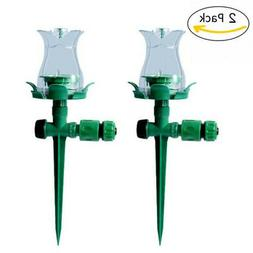 LED Automatic Water Sprinkler Garden Lawn Outdoor Irrigation