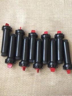 "Lot Of 10 Toro 570 Series 4"" Pop Up Spray Sprinkler Heads"