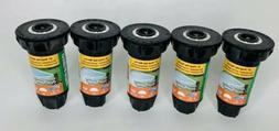 Lot Of 5 Rain Bird Sprinklers Half Pattern 1800 Series Dual