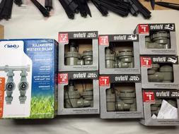 Lot of 8 New Orbit Sprinkler System Lawn Genie 1'' & 3/4'' V