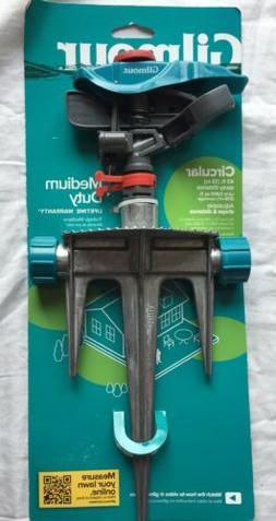 Gilmour- Medium Duty Metal Pulsator on Step-Spike Sprinkler-