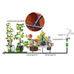 Micro Drip Irrigation System Automatic Garden Lawn Plant Spr