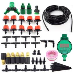 Micro Drip Irrigation System DIY Plant Self Watering For Dri
