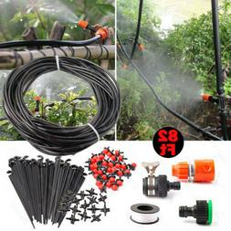 Micro Drip Irrigation System Plant Lawn Garden Watering Hose