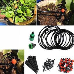 Easydeal Micro-sprinklers Spray Water Iggigation Kit Set Mic