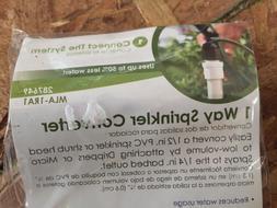 Mister Landscaper MLA-1RA1 Drip Irrigation 1 Way Sprinkler C