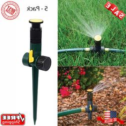 Melnor Multi Adjustable Lawn Sprinkler on a Spike with Integ