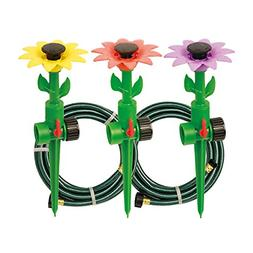 Multi-Adjustable Sprinklers and Garden Hoses Kit Covers up t