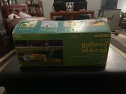 New Nelson Rain Train Cast Iron Traveling Lawn Sprinkler Tra