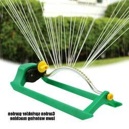 Oscillating Lawn Sprinkler Watering Garden Pipe Hose Water F
