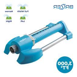 Oscillating Rotary Adjustable Spray Lawn Sprinkler for Yard