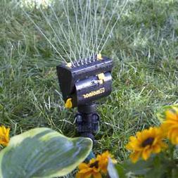 Oscillating Spike Lawn Sprinkler 360° Head Rotates Melnor M