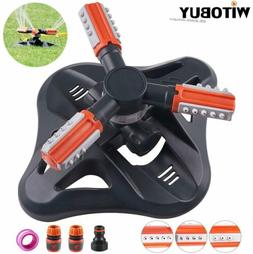 outdoor lawn sprinkler automatic 360 degree rotating