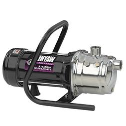 WAYNE PLS100 1 HP Portable Stainless Steel Lawn Sprinkling P