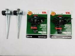 Ace Pulsating Water Sprinklers 70694 Qty 2 Sprinkler Heads w