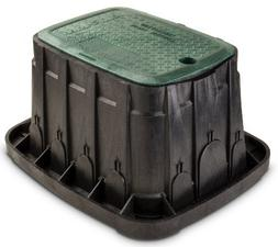Rainbird VBREC12 12 in Green Rectangle Valve Box With Lid