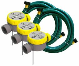 7 x Nelson Rainscapes Lawn Watering System 50182 - Sprinkler
