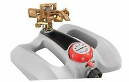 RAINWAVE Metal Pulsating Sprinkler with Timer Waters Upto 57