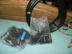 """Dig Raised Bed Drip Watering System Lot 1/2"""" Tubing-Fittings"""