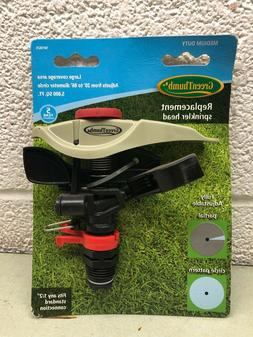 GREEN THUMB Replacement Sprinkler Head Large Adjustable Medi