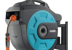 GARDENA Retractable Hose Reel 82-Feet With Convenient Hose G