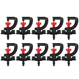 Easydeal 10pcs 360° Rotary G Type Micro Nozzle Sprinkler Pl