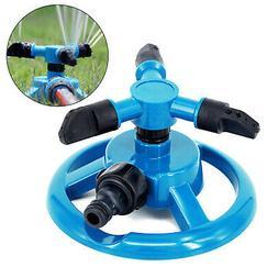 Rotating 360 Degree Sprinkler Garden Lawn Grass Watering Sys