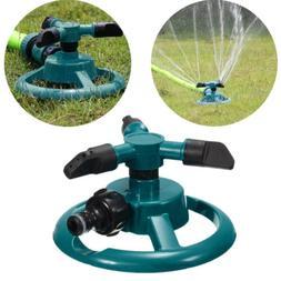 rotating 360 degree sprinkler garden lawn grass