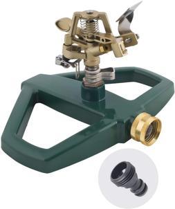Rotating Impulse Impact Lawn Sprinkler Garden Watering Syste
