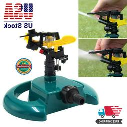 Rotating Impulse Sprinkler Garden Lawn Grass Watering System