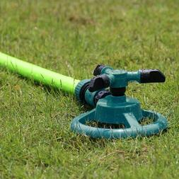 rotating impulse sprinkler garden lawn grass watering