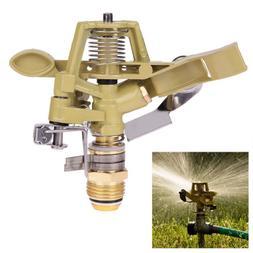 Rotating Water Spray Nozzle Garden Sprinklers Head Lawn Irri