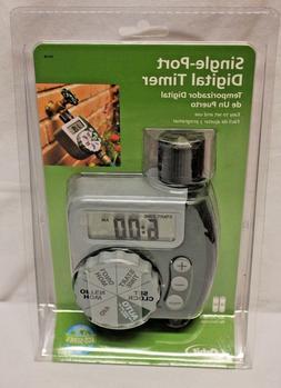 Orbit Single Port Digital Timer Zone Set Auto Sprinkler Wate
