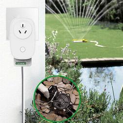 Smart Irrigation Lawn Sprinkler Controller System Assistant