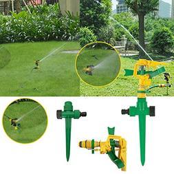 KICODE Durable Automatic Garden 360 Irrigation Sprayer Sprin