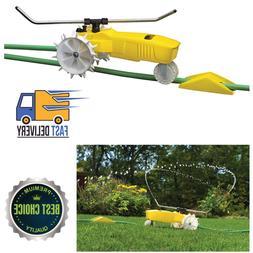 Traveling Sprinkler Raintrain Garden Tractor Sprinkle Water