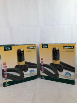 Turbo Rotary Sprinkler 2 Pack ~ New Lawn Care Melnor Grass