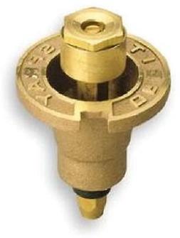 Underground Sprinkler Pop-Up Head, Brass, Quarter-Circle