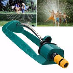 US 15 Holes Adjustable Grass Spray Watering Sprinkler Oscill