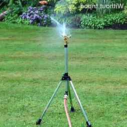 Water Sprinkler Garden Lawn Impulse Metal Spike Grass Hose 3