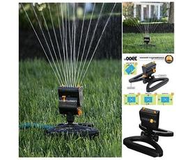 Water Sprinklers For Lawns Oscillating Rotation Flow Control
