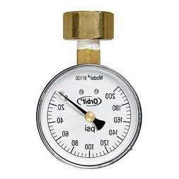 Orbit WaterMaster Underground 91130 200-Pound Pressure Gauge