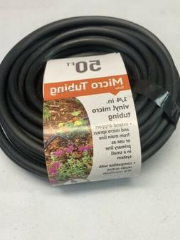 DIG 1/4 in. x 50 ft Vinyl Micro Drip Tubing Outdoor Garden W