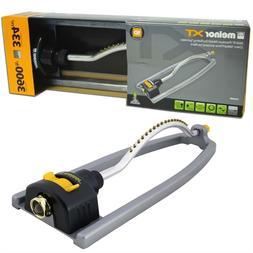 Melnor XT- 3600 Sq Ft lawn premium metal oscillating lawn sp