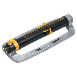 Melnor XT Metal Oscillating Lawn Sprinkler with Width, Range